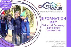 School Information Day 2020