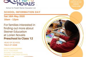 School Information Day May 2020