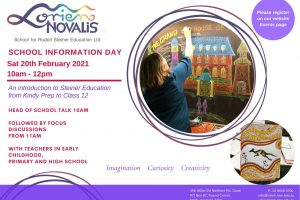 Term 1 Information Day Saturday 20th February 2021