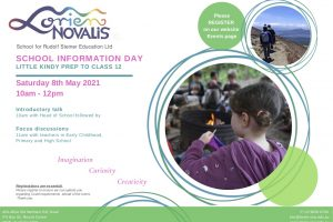 Term 2 Information Day Saturday 8th May 2021