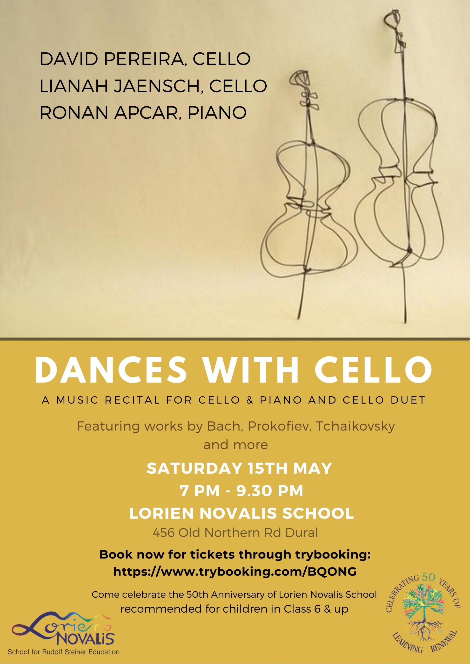 Lorien Novalis dances with cello