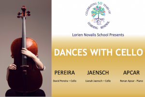 Dances with Cello – Saturday May 15th